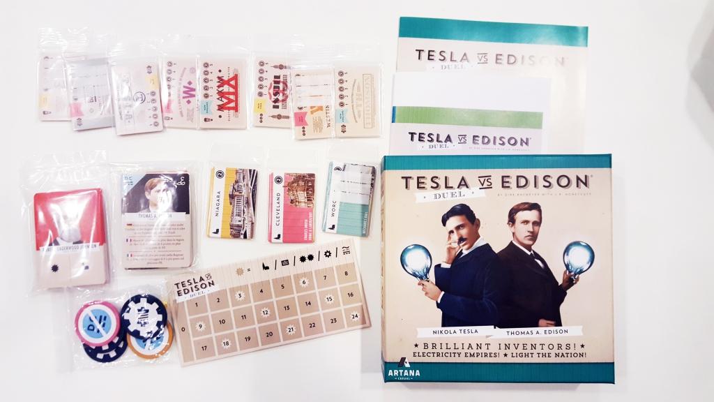 テスラvsエジソン (Tesla vs. Edison) フリーマーケット出品