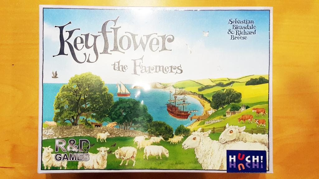 キーフラワー (Keyflower)+拡張:農夫たち(The Farmers)+拡張:商人たち(The Merchants) フリーマーケット出品